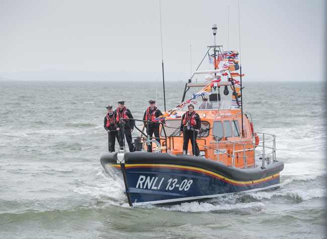 Donegal RNLI receives first Shannon class lifeboat in Ireland