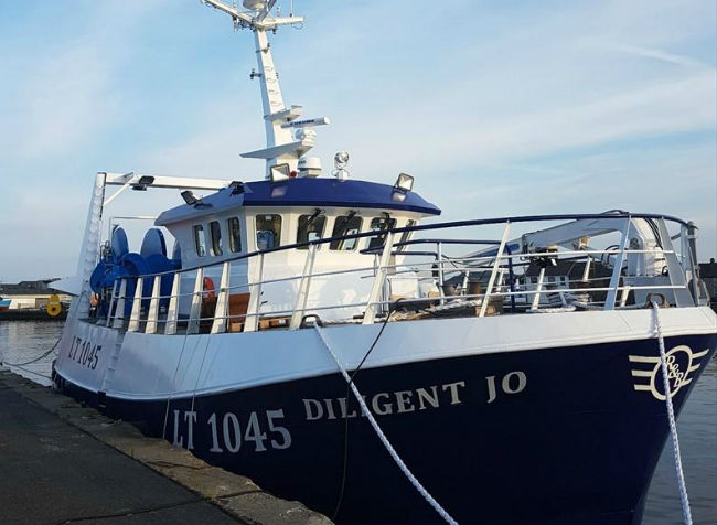 High-spec twin-rig trawler