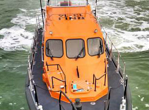 Arrival of the new Shannon class RNLI lifeboat for Fleetwood