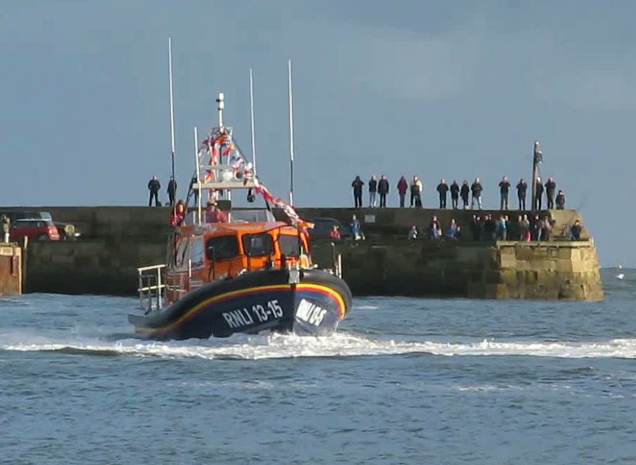 Durowipers selected again on board RNLI Scarborough's Shannon Class