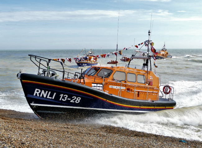 Hastings Shannon lifeboat gets the DuroWipers treatment